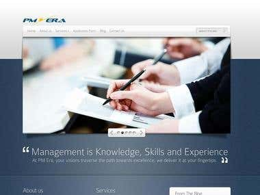 PMERA Website design and maintenance