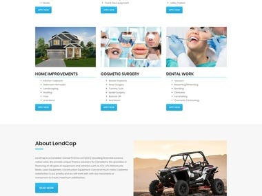 Dental Wordpress Customized site
