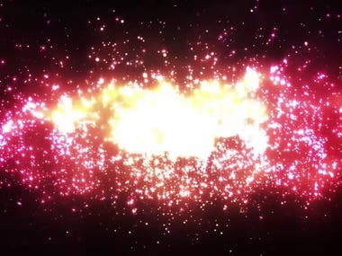3d music video - galaxy