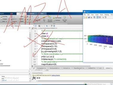 RC Beam using Matlab (FEM)