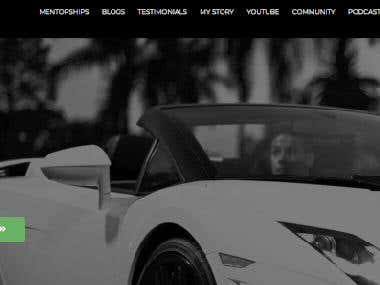 WordPress Website - Modern/Landing