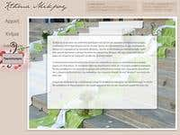 Wedding Planner Website w. Trace Animations on the Pictures