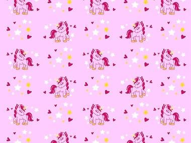 Unicorn Pattern Design...