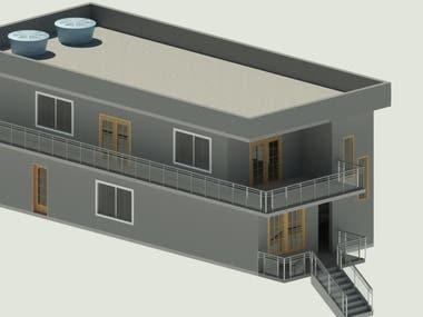 House in Revit