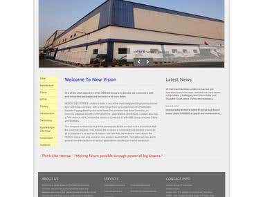 Business Company Website
