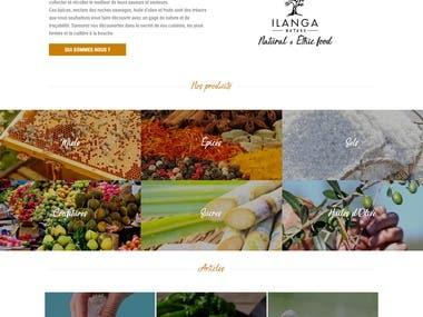 Site Web - Ilanga Nature