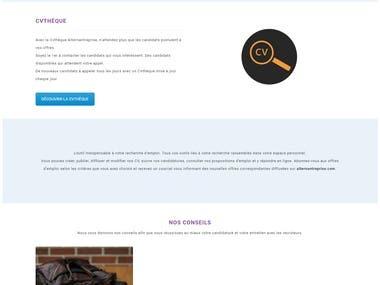 Site Web - Alternantreprise
