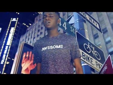 Green Screen Keying Music Video