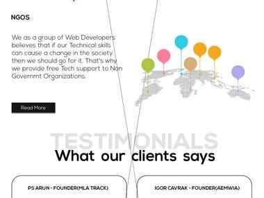 Website development || ecommerce || portfolio