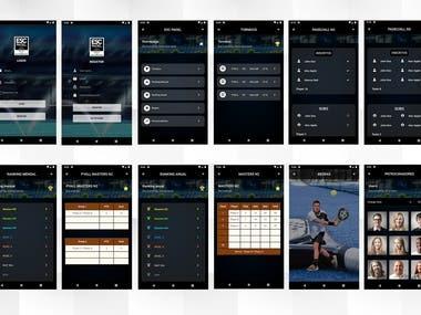 Mobile app design , development & Admin panel