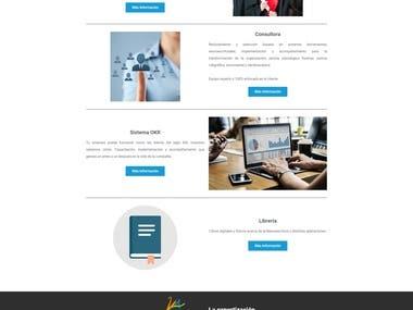Rediseño Página Web