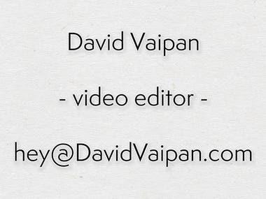 Editing Demo Reel