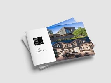 Brochure Design for High-End-Staging