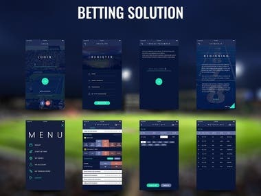 Betting Web based software