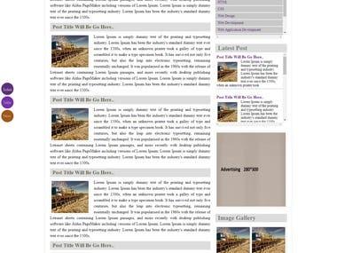 Blog Website Design & Development
