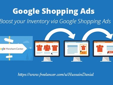google merchant center shopping feed and ads campaign