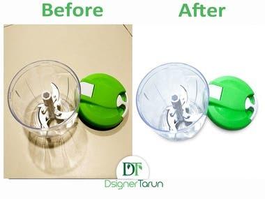 Product Photo Background change