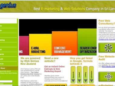 our Site (www.webgenius.lk)