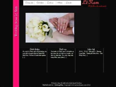 Wordpress site - Aocuoilenam.com