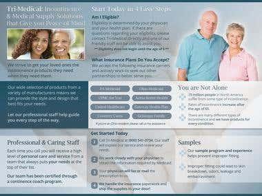 Client: TriMed Brochure