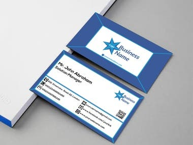 3D Style Business Card