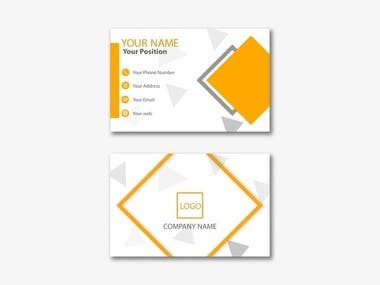 Sample of logo and business cards