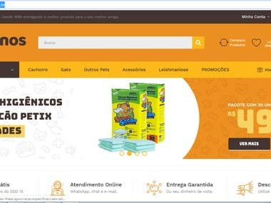 opencart https://www.caninos.com.br/