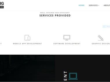 RagingDevelopers Business Website