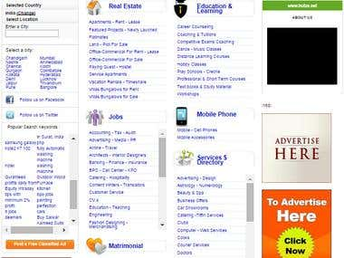 Advanced Php Classified Website