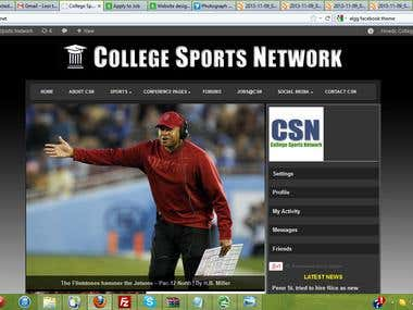 College Sports Network