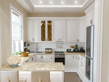 Style classic kitchen