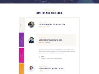 Website Design Development Work