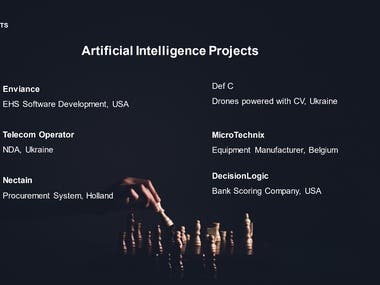 Cloud Computing and Augmented AI Projects