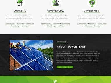 Urjanvit - the power company website home page