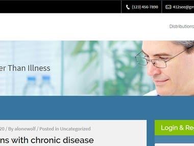 Wordpress Membership Site