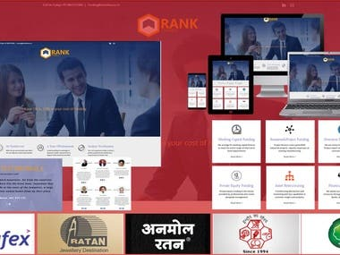Rank Finance Website design and Development