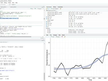 Statistical support for researchers