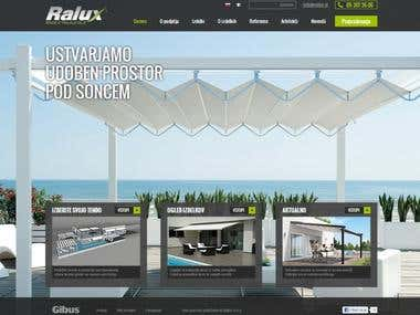 Website www.ralux.si