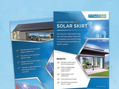 Titan Eco - Brochure/Flyer Design