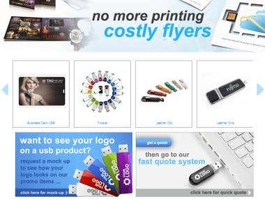 USB Selling Website
