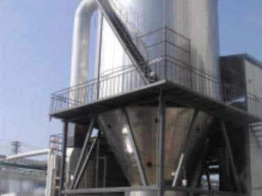 Design of spray dryer
