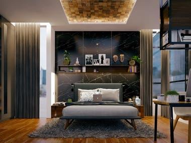 Master Bedroom (Interior Design)