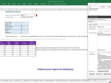 Microsoft Excel Projects, VBA Macro, Forms & Dynamic Report