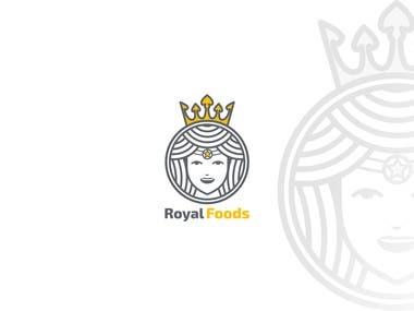 Logo Design for Royal Foods