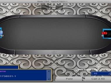 Web cam Poker site