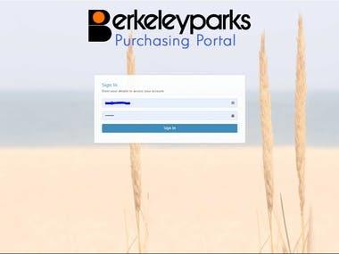 Park Purchasing System (MVC Web application)