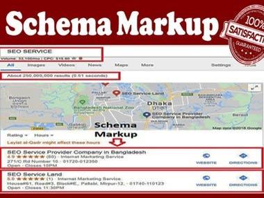 Schema Markup Structured Data