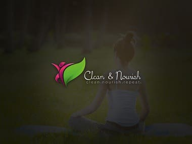 Clean and Nourish Logo