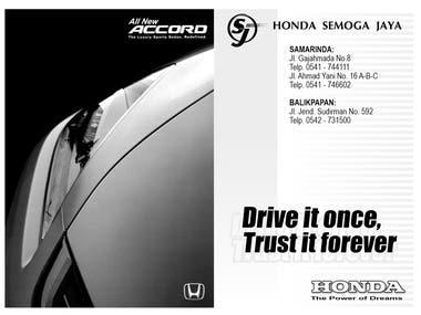 HONDA - MY NEW CAR