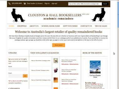 Clouston and Hall Book Sellers Pty Ltd